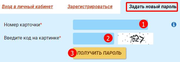 Как назначить новый пароль